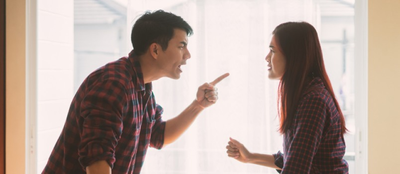 Anger and rage are one of the dominant emotional outlets of an unhappy marriage