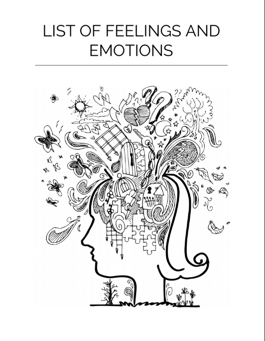 Ecover List of Emotions and Feelings
