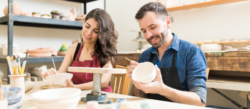 Do a pottery evening
